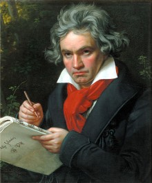 Beethoven: challenging prejudice about the composers'  deafness as personal tragedy