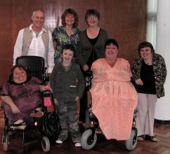 photo of a group of disabled performers