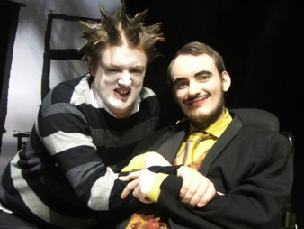 photo of two male actors from the Orpheus Centre