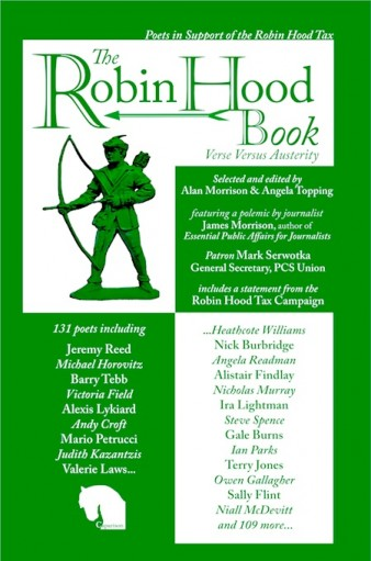 Robin Hood poetry book cover