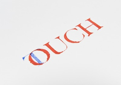 Screenprint of Touch!