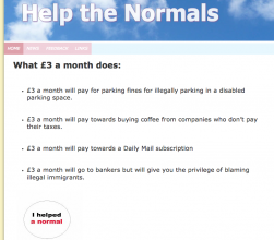 help the normals website